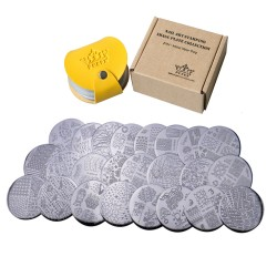 Stamping Plates Set 24M - Make Your Day