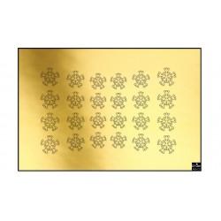 StickerSS02 Goud Shiny
