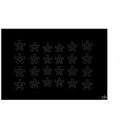 StickerSS02 Zwart