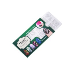 PUEEN Nail Stamping Plate - Fairytale 01