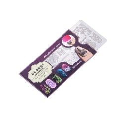 PUEEN Nail Stamping Plate - Fancy 01