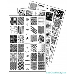 Nail Stamp Plates Collection 1