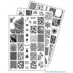 Nail Stamp Plates Collection 6