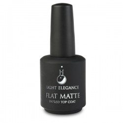 Light Elegance Flat Matte Top Coat 15ml