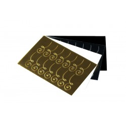 Sticker082 Goud Shiny