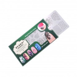 PUEEN Nail Stamping Plate-Nature Lover02