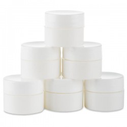 White Mixing Containers