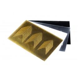 Sticker058 Goud Shiny