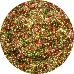 Mistletoe UV Glitter Gel