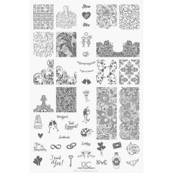 UberChic - Single Plate Love & Marriage 01
