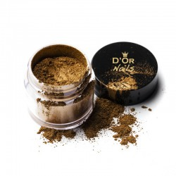 D'Or Nails Pigments - Gold Leaf Pigment