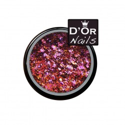 D'Or Nails Crushed Flakes - Tropical Wave