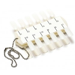 D'OR NAILS  COLOR POPS SQUARE 24PCS