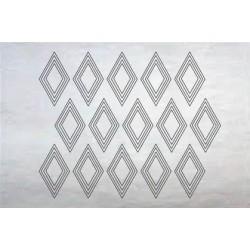 Sticker050 Zilver Shiny