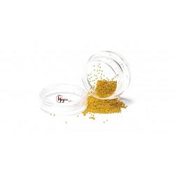 NAIL ART MINI BEADS - GOLD