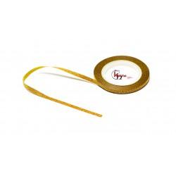 Glitter Sttriping Tape 3mm Goud
