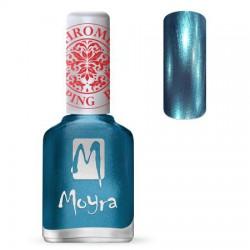 MOYRA STAMPING NAIL POLIS-CHROME BLUE