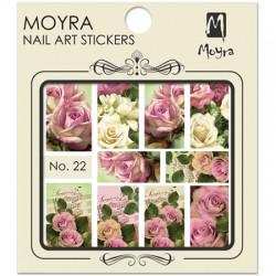 MOYRA NAIL ART STICKERS