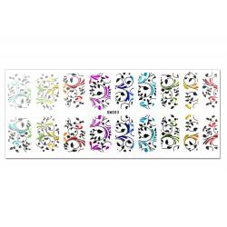Nail Art Sticker Multi