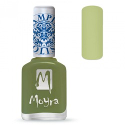 MOYRA STAMPING NAIL POLISH LIGHT GREEN