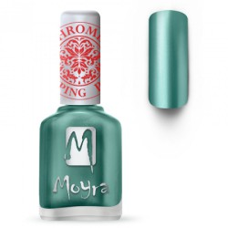 MOYRA STAMPING NAIL POLISH CHROME GREEN