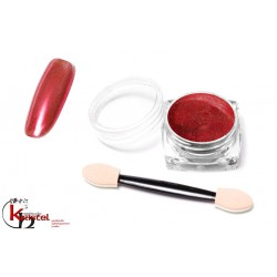Metallic Mirror Powder - Red