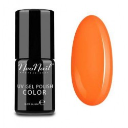 UV/LED Gel Polish 6 ml - Neon Orange