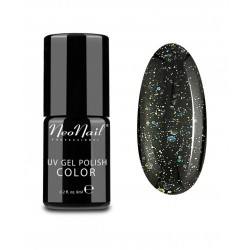 UV/LED Gel Polish 6 ml - Black Confetti