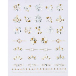 GLOSSY BLOSSOM ART STICKER 72