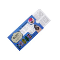 PUEEN Nail Stamping Plate - Geo 01