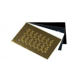 Sticker071 Goud Shiny
