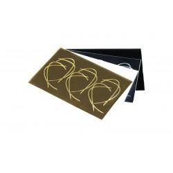 STICKER090 Goud Shiny
