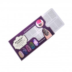 PUEEN Nail Stamping Plate-Fancy02
