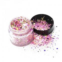 D'Or Nails Glitter Line - Fetti pop ART 35