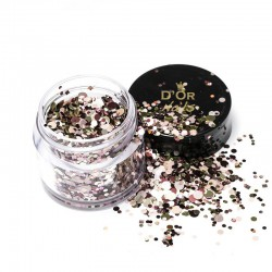 D'Or Nails Glitter Line - Fetti Pop Art 44