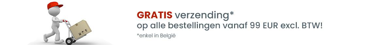 Gratis verzending vanaf 60 EUR excl. BTW!